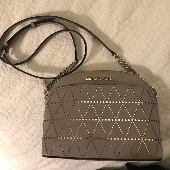 7f4df1cc1331 KORS Michael Kors Bags | Michael Kors Emmy Medium Crossbody Pearl ...